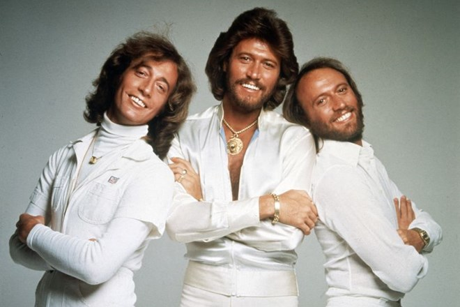 Bee Gees leta 1979: Robin Gibb, Barry Gibb in Maurice Gibb.