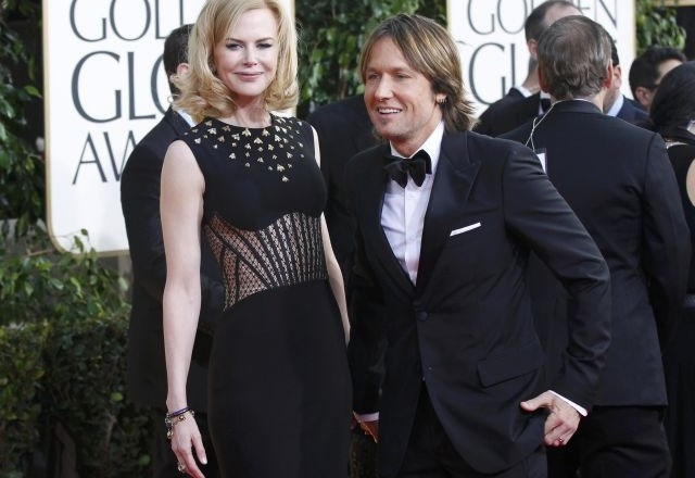 Nicole Kidman in Keith Urban (foto: Reuters)