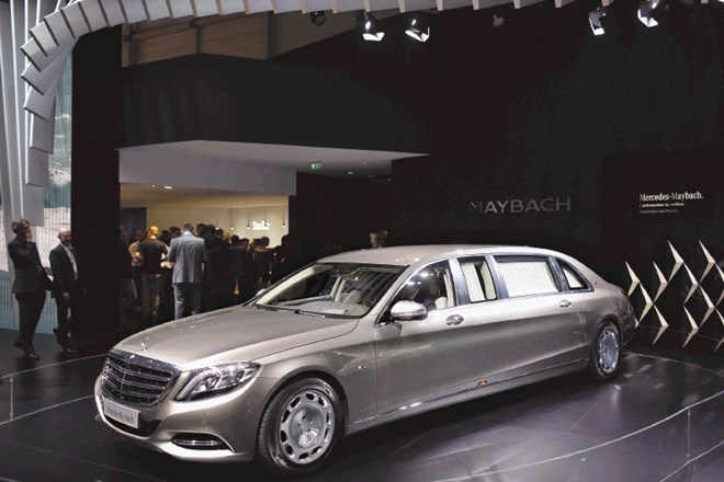 Mercedes maybach S 600 pullman