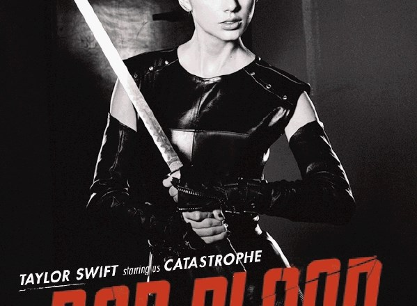 Taylor Swift na plakatu za Bad Blood