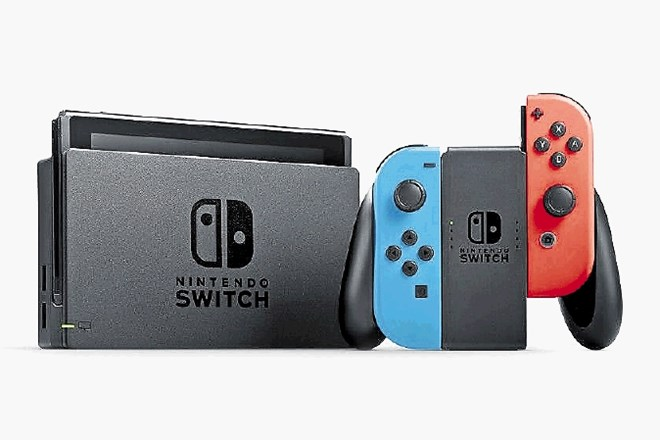 Nintendova konzola switch.