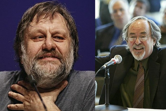 Slavoj Žižek in David Horowitz