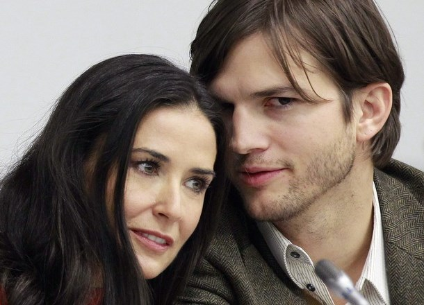 Demi Moore in Ashton Kutcher