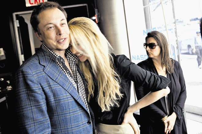 Elon Musk in Talulah Riley