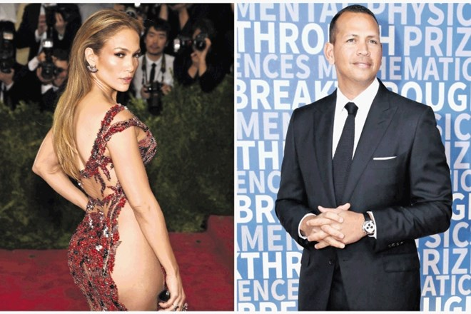 Jennifer Lopez in Alex Rodriguez