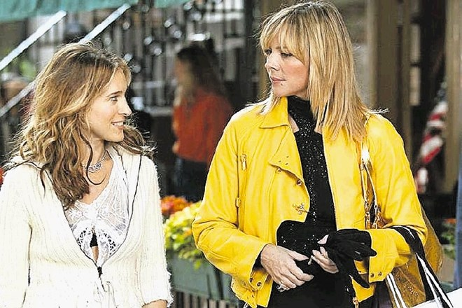 Samatha in Carrie oziroma  Kim Cattrall in Sarah Jessica Parker