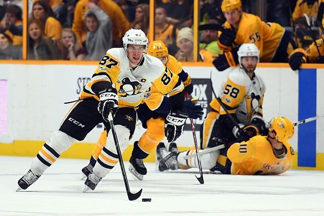 Kapetan pingvinov Sidney Crosby (Foto: USA TODAY Sports)