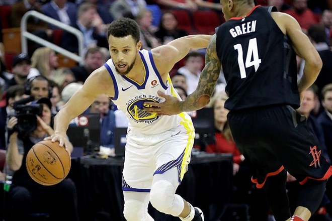 Golden State v derbiju zahoda premagal Houston