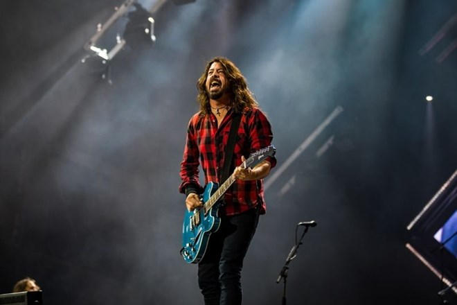 Dave Grohl na festivalu Rock am Ring letos