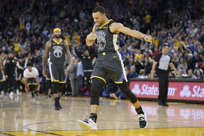 #video Golden State do pete zaporedne zmage
