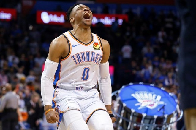 #video Russell Westbrook za zgodovino