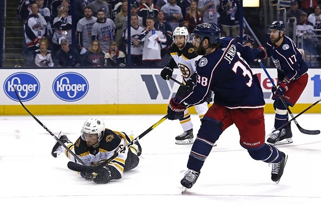 #video Columbus in San Jose do prednosti v ligi NHL