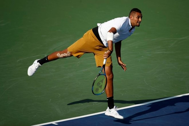 #video Nick Kyrgios kraljeval v Washingtonu
