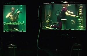 V Rotterdamu prvi koncert skupine pod vodno gladino