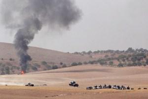 Sirski uporniki s podporo turških sil na severu Sirije že zavzeli štiri vasi