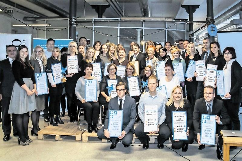 Več kot 200 podjetij s certifikatom družini prijazno podjetje