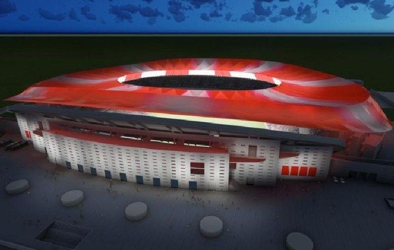 Novi štadion Atletica iz Madrida se bo imenoval Wanda Metropolitano