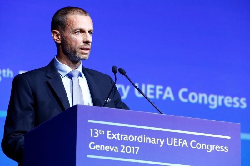 Tako Čeferin kot Infantino podpirata reformo nogometnih prestopov