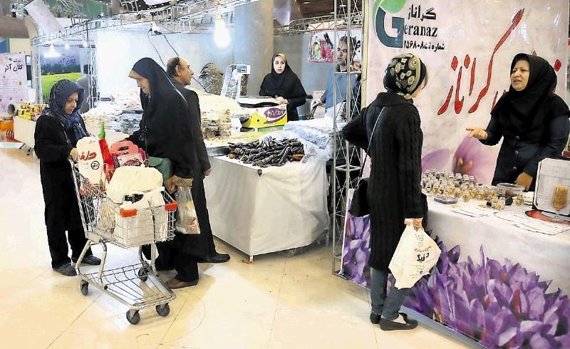V Iranu prva ekološka tržnica