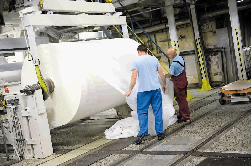 Do leta 2020 v papirništvu 500 rednih zaposlitev