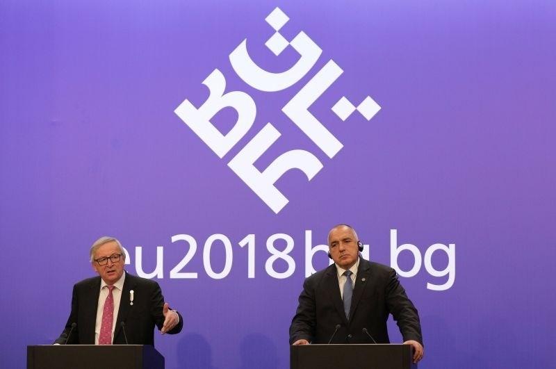 Juncker podprl prizadevanja Bolgarije za vstop v schengen in uvedbo evra