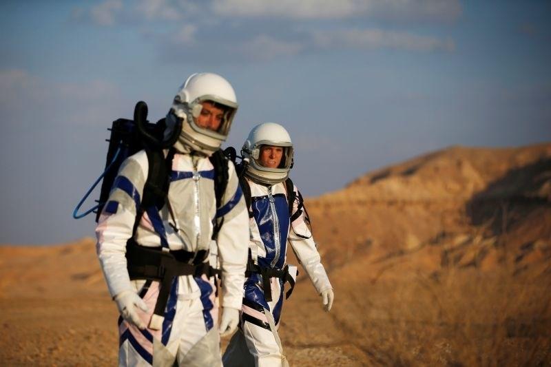 #foto #video Izraelski znanstveniki v puščavi simulirali ekspedicijo na Mars
