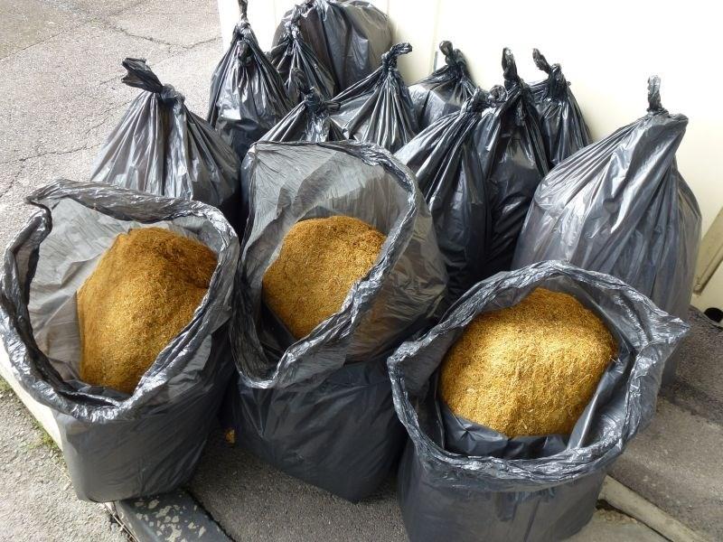 Na Sečovljah zasegli 196 kilogramov tobaka