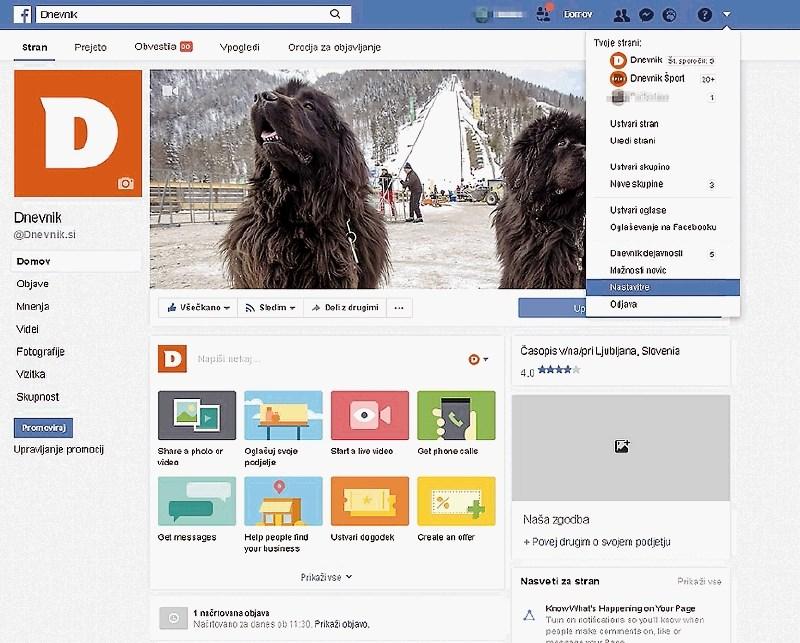 Kako varovati osebne podatke na facebooku in kako ga izbrišem?