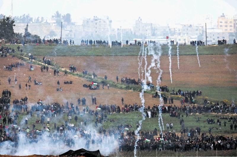 Krvav začetek velikega pohoda vrnitve Palestincev