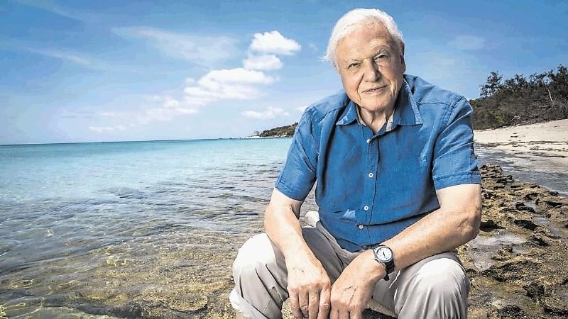 Sir David Attenborough med snemanjem skoraj umrl