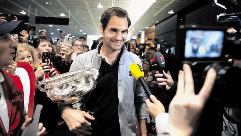 Roger Federer na naslovnici revije Time