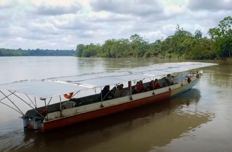 #video S prvim kanujem na sončno energijo želijo ohraniti Amazonski pragozd