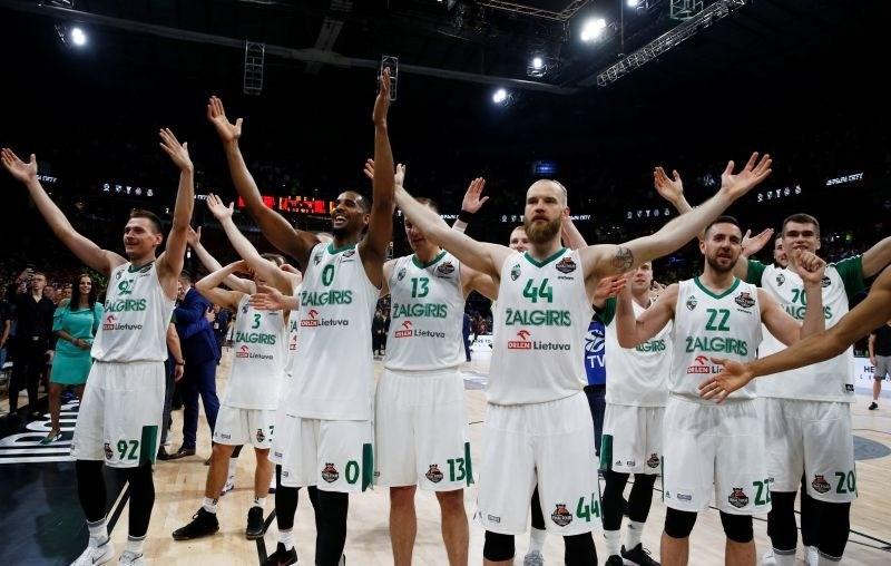Zaključni turnir evrolige: Žalgiris v tekmi za tretje mesto premagal CSKA Moskvo