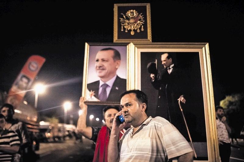 Erdogan dobro izkoristil poskus puča