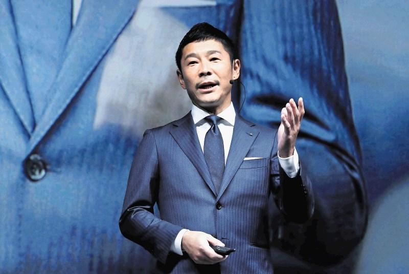 Japonski filantrop bo prvi turist na Luni
