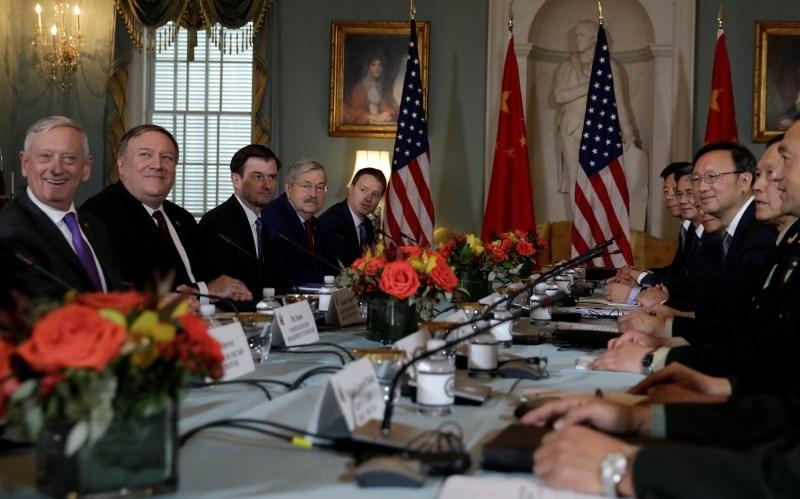 ZDA in Kitajske nadaljujeta diplomatski in varnostni dialog