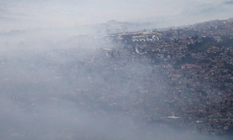 #foto Mesta na Zahodnem Balkanu se dušijo v smogu