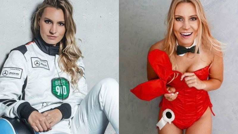 Doreen Seidel: Playboy zajčica, ki želi v formuli 1 osvajati stopničke
