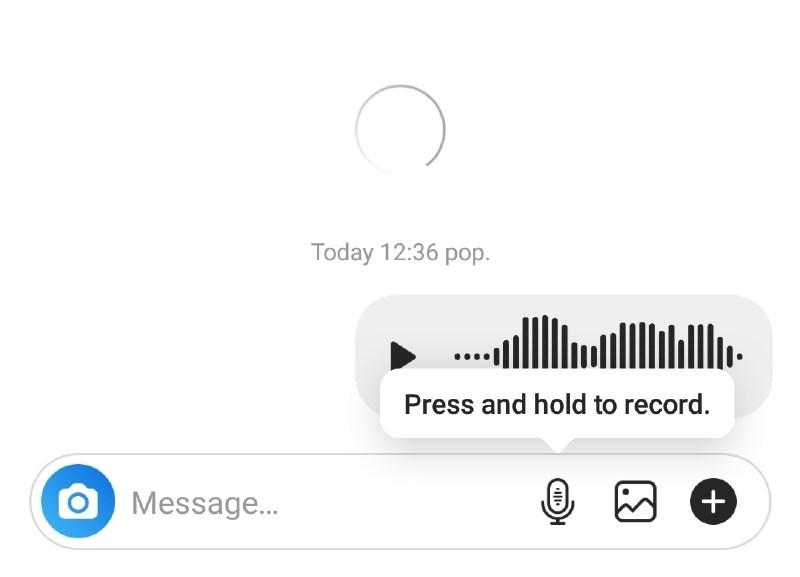 Instagram omogoča pošiljanje zvočnih zasebnih sporočil