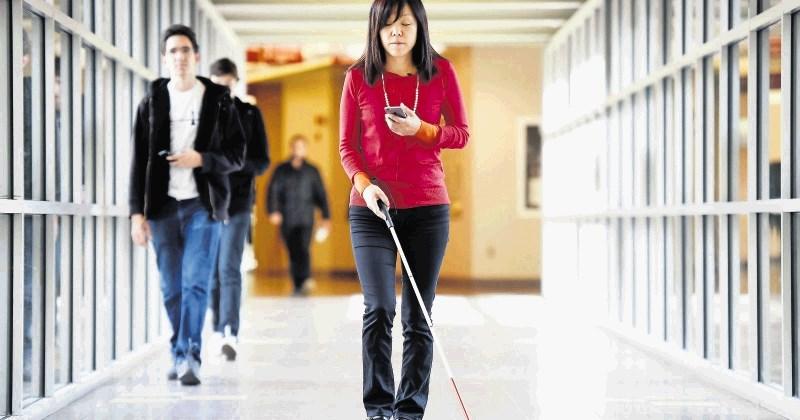Slepa znanstvenica izumlja za slepe
