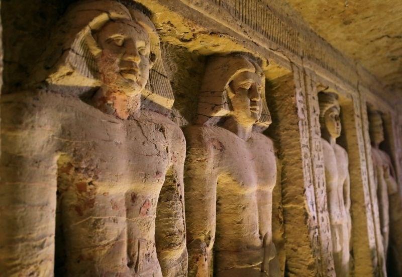 #foto V Egiptu odkrili 4400 let staro grobnico