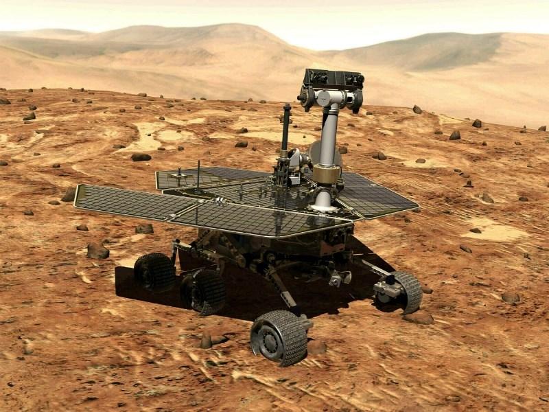 #video Nasa uradno ugasnila misijo roverja Opportunity na Marsu