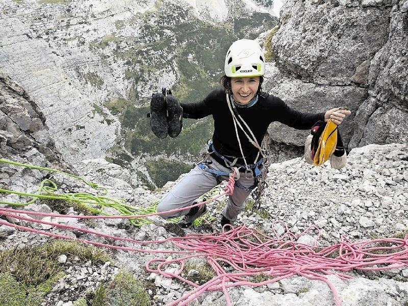 Marija Jeglič, alpinistka leta 2018: Včasih je meja med porazom in modrostjo zelo tanka