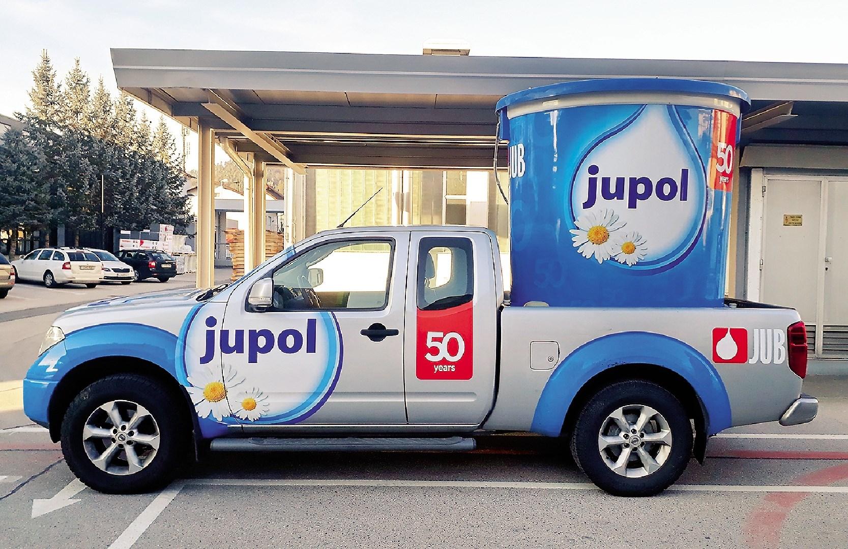 Blagovna znamka JUPOL letos praznuje petdeset let