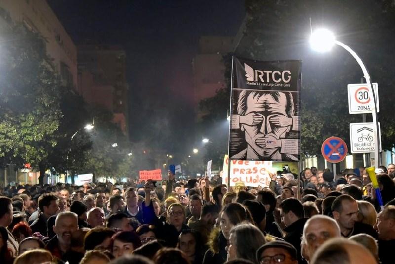Na ulicah Podgorice novi protesti proti predsedniku Črne gore