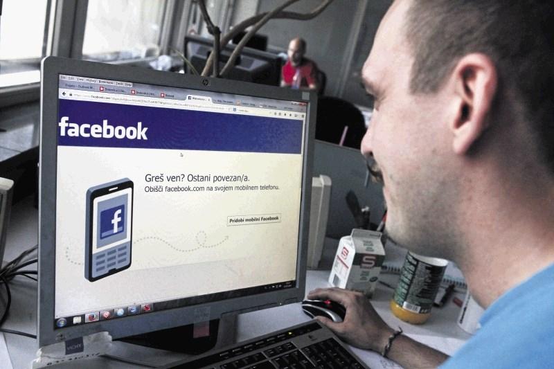 Facebook hranil nekriptirana gesla milijonov uporabnikov