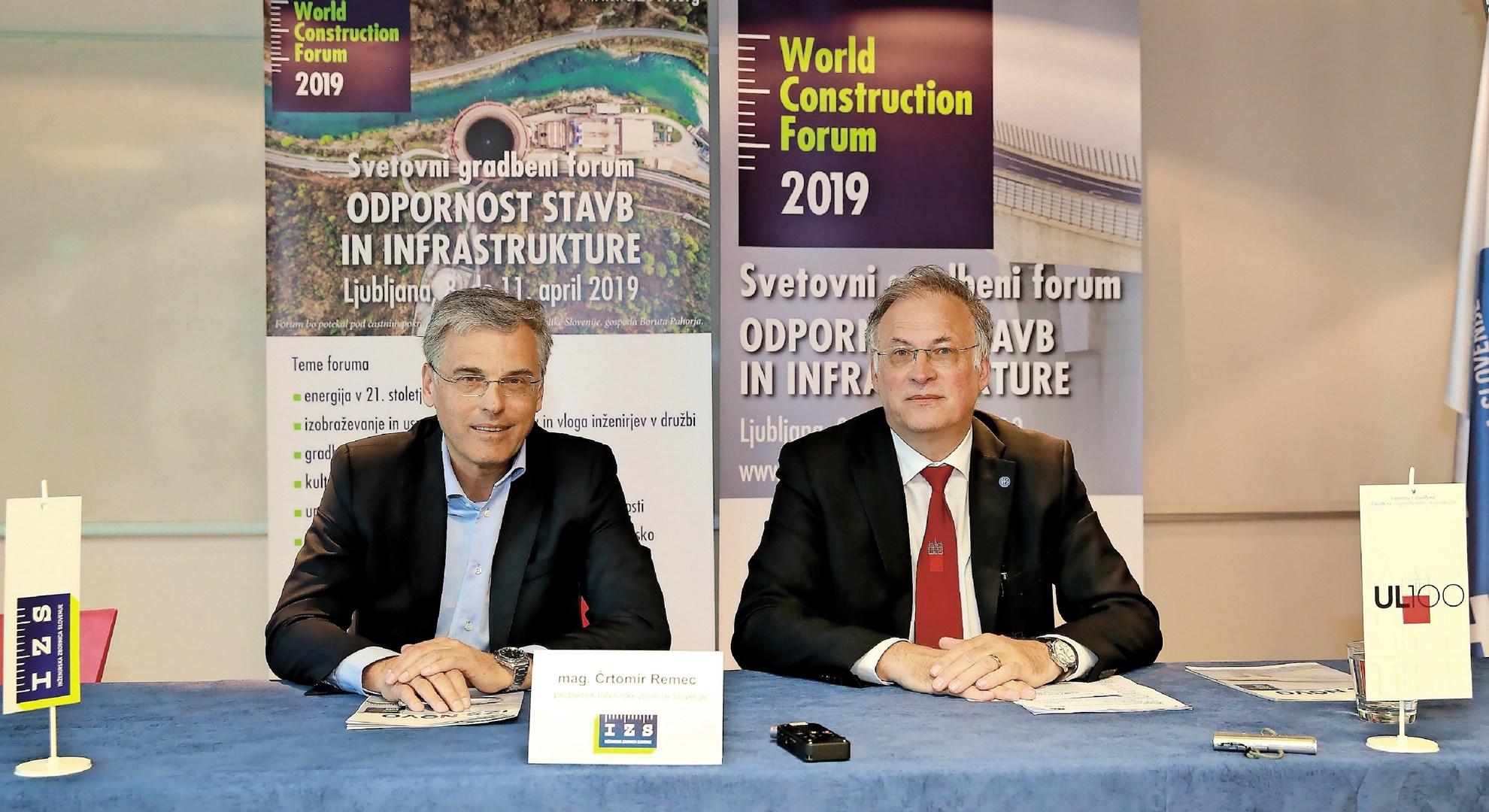 Svetovni gradbeni forum v Ljubljani: tradicionalna panoga, ki doživlja veliko sprememb