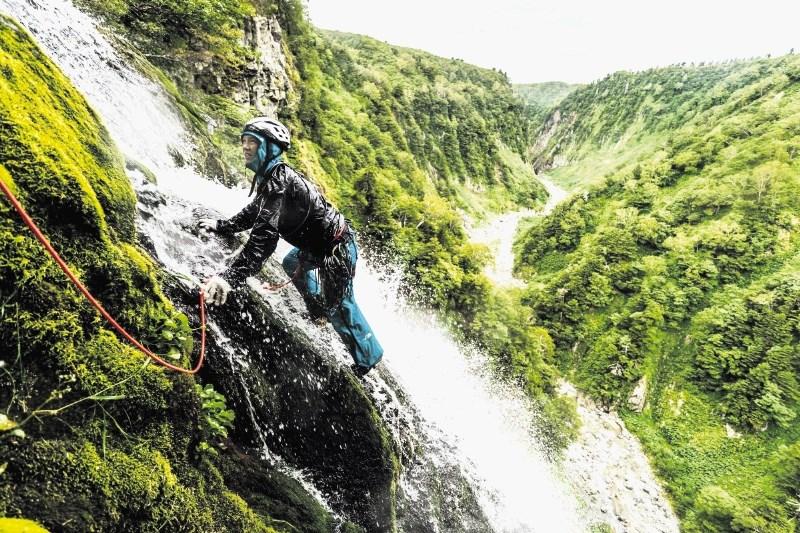 Savanobori, japonska umetnost plezanja