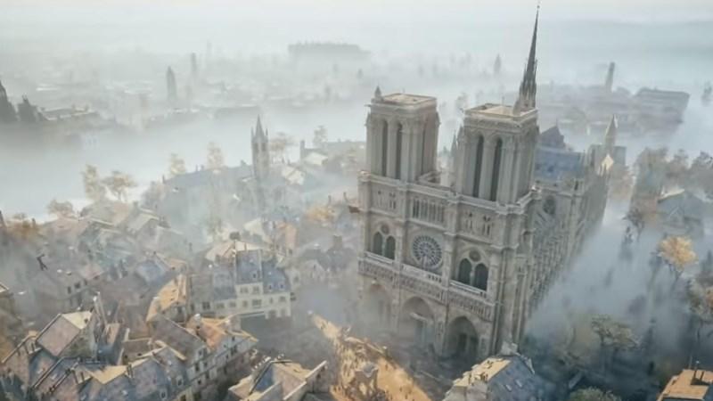 Priljubljena videoigra bi lahko pripomogla k obnovi pogorele katedrale Notre-Dame