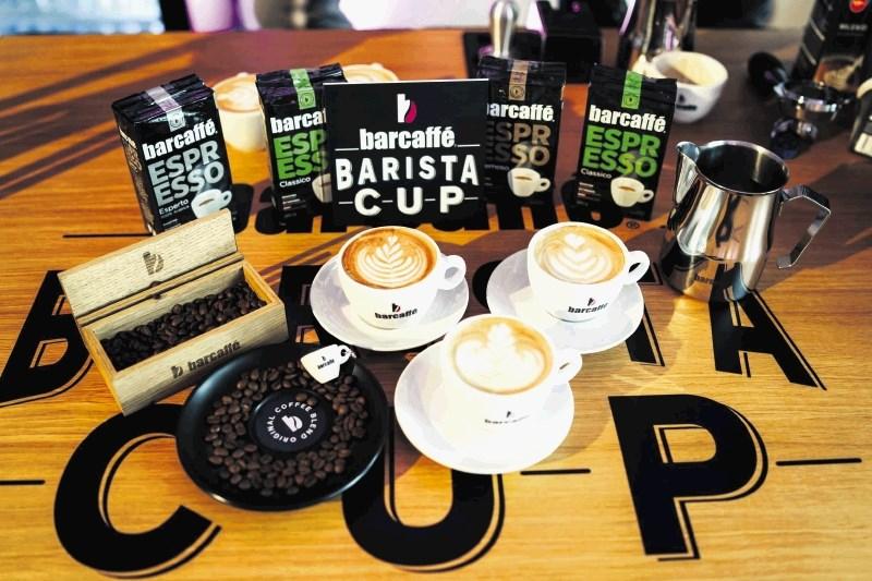 Finalisti regionalnega tekmovanja v latte art
